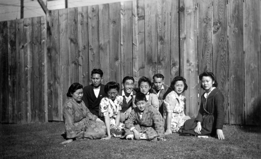 Kimiko Nakamura and Others in a Sanatarium; New Denver, BC NNM 1996.155.1.22
